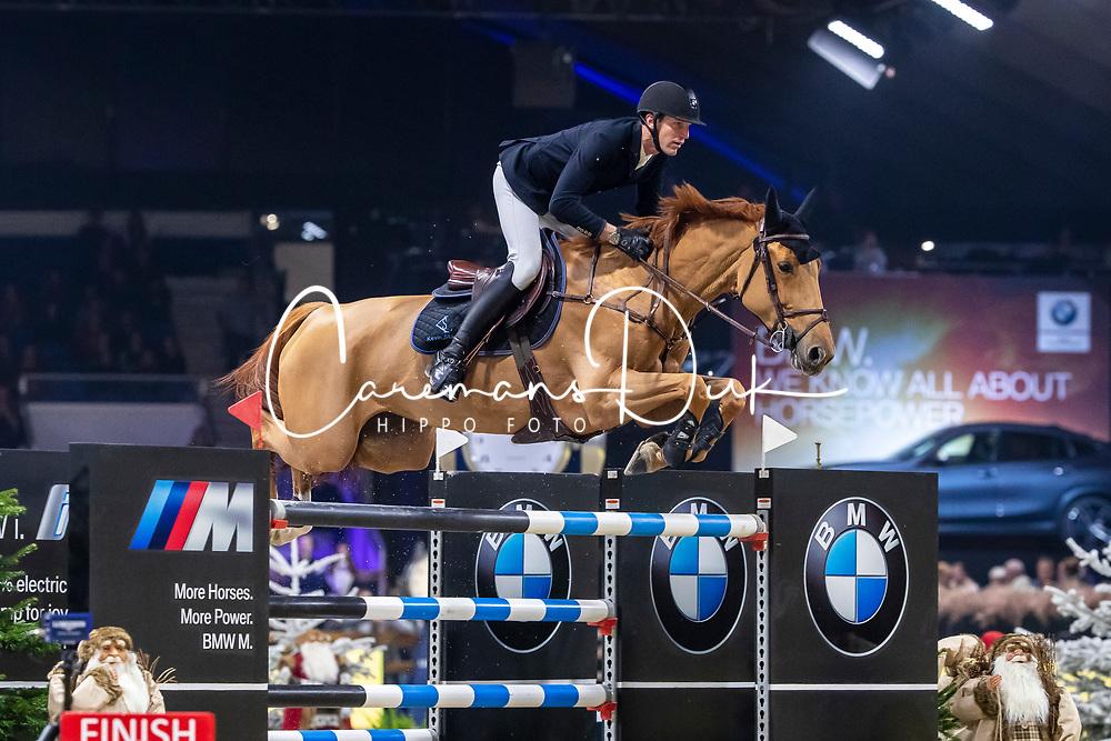 Staut Kevin, FRA, Ballerine du Vilpion<br /> Jumping Mechelen 2019<br /> © Hippo Foto - Dirk Caremans<br />  27/12/2019