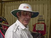 Nottingham, ENGLAND. Times Journalist, Mike ROSEWELL <br />  <br />   <br /> Commonwealth Regatta - Nottingham<br /> 20020818<br /> [Mandatory Credit: Peter SPURRIER/Intersport Images]