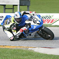 AMA Pro Motorcycle-SuperStore.com SuperSport Qualifying during the 2013 Subway SuperBike Doubleheader held at  Road America,  Elkhart Lake,  WI. on May 31, 2013.