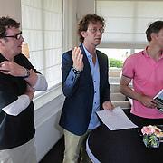 NLD/Halfweg/20120523 - Boekpresentatie Willem van Hanegem, met Marco van Basten