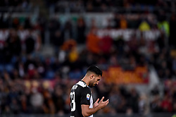 May 12, 2019 - Rome, Rome, Italy - Emre Can of Juventus preys during the Serie A match between Roma and Juventus at Stadio Olimpico, Rome, Italy on 12 May 2019. (Credit Image: © Giuseppe Maffia/NurPhoto via ZUMA Press)