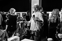 London 19th September 2016 Backstage during  ANTONIO BERARDI Catwalk Show at London Fashion Week Spring/Summer 17