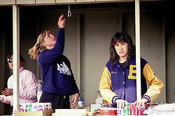 Debbie Fields & Reinne Opie (Tupaaq) , Selling Items At Event