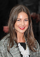 LONDON - AUGUST 13: Louise Thompson attended the UK Film Premiere of 'The Expendables 2', Leicester Square, London, UK. August 13, 2012. (Photo by Richard Goldschmidt)