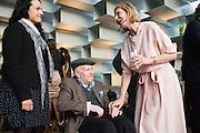 GUSTAV METZGER; JULIA PEYTON-JONES, Party  to celebrate Julia Peyton-Jones's  25 years at the Serpentine. London. 20 June 2016