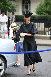 June 27, 2017 - London, London, United Kingdom - Image licensed to i-Images Picture Agency. 27/06/2017. London, United Kingdom. Arrivals at the funeral of Countess Mountbatten of Burma at  St.Paul's church in Knightsbridge, London. Picture by Stephen Lock / i-Images (Credit Image: © Stephen Lock/i-Images via ZUMA Press)