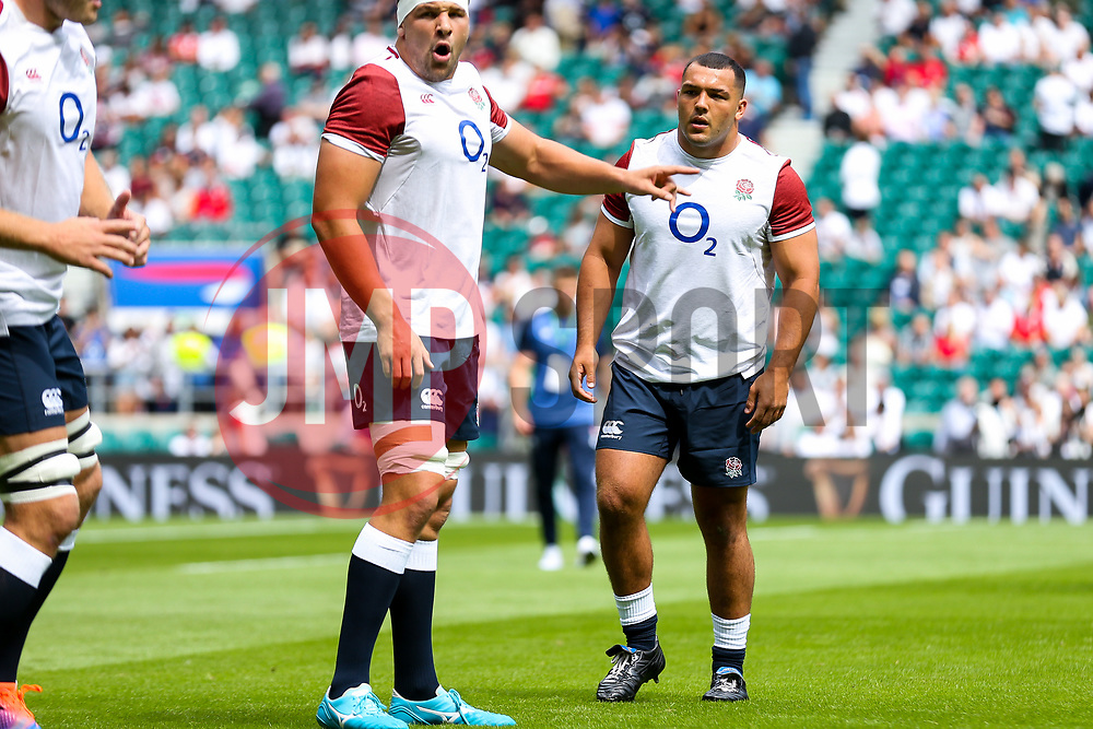 Ellis Genge of England looks on - Rogan/JMP - 11/08/2019 - RUGBY UNION - Twickenham Stadium - London, England - England v Wales - Quilter Series.