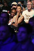 June 23, 2017-New York, NY-United States: Audience attends at Pharaoh Sanders performance at BRIC Celebrate Brooklyn Music Festival held at the Prospect Park Bandshell on June 23, 2017 in Brooklyn, New York. (Terrence Jennings/Polaris)