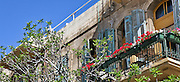 Eclectic style architecture (circa 1925) Jaffa, Israel