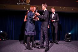 Equi Gala, Golliere Céline, Van Gucht Ruben, Ceulemans Kristel, Spits Thibeau<br /> Equigala - Brussel 2020<br /> © Hippo Foto - Dirk Caremans<br /> 21/01/2020