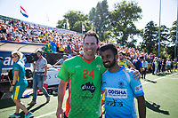 BREDA - keeper Tyler Lovell (Aus) met Manpreet Singh (Ind.)   Australia-India (1-1), finale Rabobank Champions Trophy 2018. Australia wint shoot outs.  COPYRIGHT  KOEN SUYK
