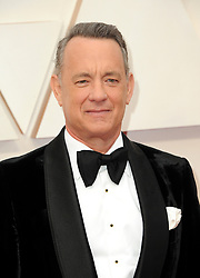 Tom Hanks at the 92nd Academy Awards held at the Dolby Theatre in Hollywood, USA on February 9, 2020.