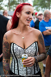 Friday afternoon at the Smokeout (in 2015,) Rockingham, NC. USA. June 19, 2015.  Photography ©2015 Michael Lichter.