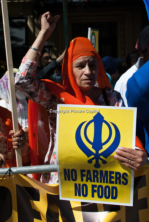 The G7 bootlickers does not represent democracy. Sikhs and Kashmiri community demand freedom and independent.