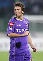 Fotball<br /> Italia<br /> Foto: Inside/Digitalsport<br /> NORWAY ONLY<br /> <br /> Adrian Mutu (Fiorentina)<br /> <br /> 30.09.3008<br /> UEFA Champions League 2008/2009<br /> Fiorentina v Steaua Bucarest (0-0)