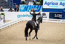 Vilhelmson Silfven Tinne, SWE, Don Auriello<br /> LONGINES FEI World Cup™ Finals Gothenburg 2019<br /> © Hippo Foto - Dirk Caremans<br /> 06/04/2019