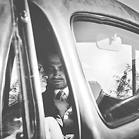 Wedding Photos by Connie Roberts Photography<br /> Old Truck, Bride and Groom