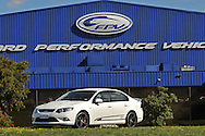 2009 Ford Performance Vehicles FPV GS Sedan - Winter White .FPV Headquarters, Campbelfield, Victoria.29th September 2009.Limited Edition FPV GS Sedan only 250 to be made .(C) Joel Strickland Photographics.Use information: This image is intended for Editorial use only (e.g. news or commentary, print or electronic). Any commercial or promotional use requires additional clearance.