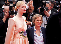 Elle Fanning and Kelly Reichardt at the Opening Ceremony and The Dead Don't Die gala screening at the 72nd Cannes Film Festival Tuesday 14th May 2019, Cannes, France. Photo credit: Doreen Kennedy