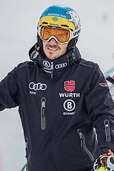 29.01.2019, Planai, Schladming, AUT, FIS Weltcup Ski Alpin, Slalom, Herren, Streckenbesichtigung, im Bild Felix Neureuther (GER) // Felix Neureuther of Germany during course inspection for the men's Slalom of FIS ski alpine world cup at the Planai in Schladming, Austria on 2019/01/29. EXPA Pictures © 2019, PhotoCredit: EXPA/ Dominik Angerer