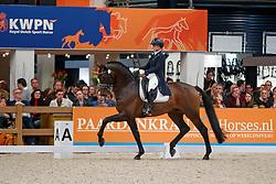 Van Kemenade Mirelle, NED, Ferdinand<br /> KWPN Stallionshow - 's Hertogenbosch 2018<br /> © Hippo Foto - Dirk Caremans<br /> 02/02/2018