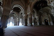 Interior of the Koutoubia Mosque, Marrakesh, Morocco