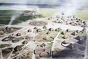 Information panel Durrington Walls neolithic prehistoric settlement site, near Amesbury, Wiltshire, England, UK