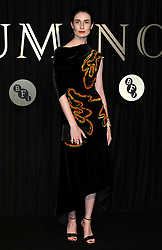 Erin O'Connor attending the BFI's Luminous fundraising gala, held at the Guildhall, London. Picture date: Tuesday October 3rd, 2017. Photo credit should read: Doug Peters/EMPICS Entertainment