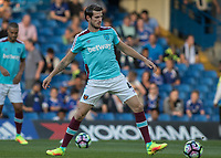 Football - 2016/2017 Premier League - Chelsea V West Ham United. <br /> <br /> Havard Nordtveit of West Ham warming up at Stamford Bridge.<br /> <br /> COLORSPORT/DANIEL BEARHAM