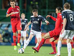 Falkirk's Conor McGrandles. Falkirk 0 v 2 Rangers, Scottish Championship game played 15/8/2014 at The Falkirk Stadium.