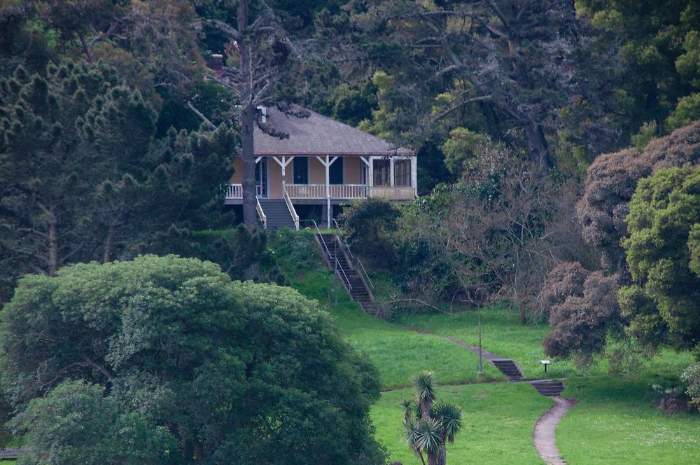 Staff Housing, Angel Island State Park, San Francisco Bay, California, US