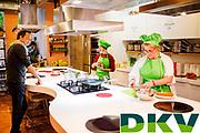 Final del concurso DKV Superchef en el espacio Boisa de Barcelona. Los chefs Sergio y javier Torres formasn parte del jurado que decidirá el ganador.