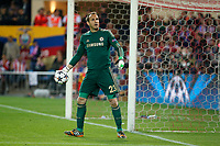 Chelsea´s goalkeeper Mark Schwarzer during Champions League semifinal first leg soccer match between Atletico de Madrid and Chelsea, at the Vicente Calderon stadium, in Madrid, Spain, April 22, 2014. (ALTERPHOTOS/Victor Blanco)