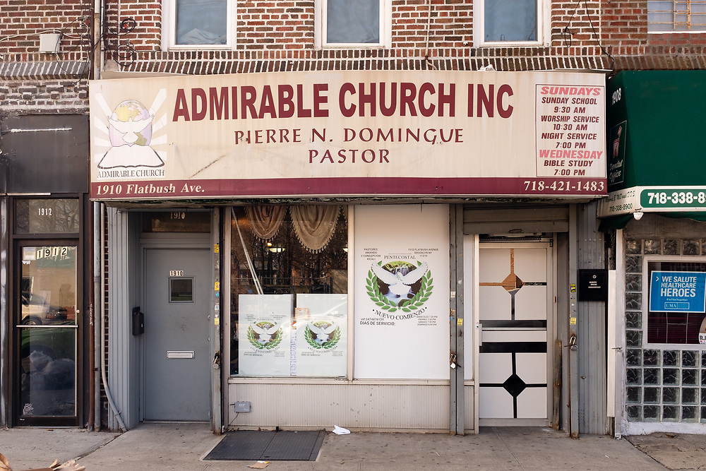 Admirable Church Inc., 1910 Flatbush Avenue, Brooklyn NY