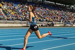 Alexa Efraimson, high school junior, finishes womens 1500 at adidas Grand Prix Diamond League track and field meet