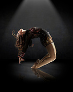 Dancer portrait for Vibe Dance Academy website and advertising.
