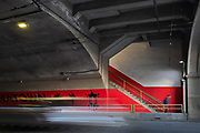 Image of the Stockton Street Tunnel in San Francisco, California, America west coast by Randy Wells