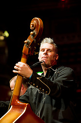 © Copyright licensed to London News Pictures. 18.10/2010. Mark Kermode, onstage at The Royal Albert Hall. Musicians and composers from the world of film gather for Concert for Care, Royal Albert Hall, London.