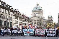 SCHWEIZ - BERN - Klimastreik in Bern auf dem Bärenplatz - 18. Januar 2019 © Raphael Hünerfauth - http://huenerfauth.ch