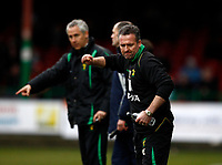 Photo: Richard Lane/Richard Lane Photography. Swindon Town v Norwich City. Coca-Cola Football League One. 20/03/2010. Norwich's manager, Paul Lambert shows his frustration.