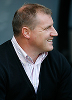 Photo: Steve Bond/Richard Lane Photography. Derby County v Sheffield United. Coca-Cola Championship. 13/09/2008. Smiles at last for Paul Jewell
