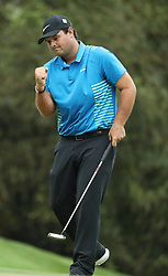 April 7, 2018 - Augusta, GA, USA - Patrick Reed birdies the 10th hole during the third round of the Masters Tournament on Saturday, April 7, 2018, at Augusta National Golf Club in Augusta, Ga. (Credit Image: © Jason Getz/TNS via ZUMA Wire)