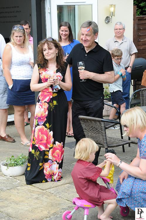 Danusia & Joe Maleczek 40th Wedding Anniversary party by David Timpson Photography with guest Dr Janina Ramirez