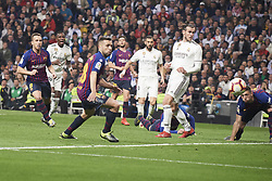March 2, 2019 - Madrid, Madrid, Spain - Gareth Bale (midfielder; Real Madrid) in action during La Liga match between Real Madrid and FC Barcelona at Santiago Bernabeu Stadium on March 3, 2019 in Madrid, Spain (Credit Image: © Jack Abuin/ZUMA Wire)