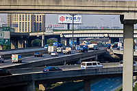 Highway traffic, Shanghai, China