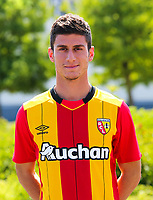 Christos Tasoulis during photoshooting of RC Lens for new season 2017/2018 on October 5, 2017 in Lens, France<br /> Photo by RC Lens / Icon Sport