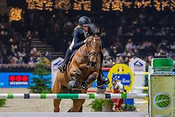 Baerts Caro, BEL, Maq Master Z<br /> Jumping Mechelen 2019<br /> © FEI/Dirk Caremans<br />  30/12/2019