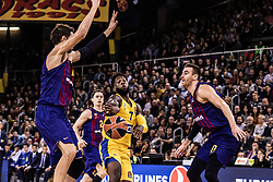 November 1, 2018 - Barcelona, Barcelona, Spain - Deandre Kane, #7 of Maccabi Fox Tel Aviv in actions during EuroLeague match between FC Barcelona Lassa and Maccabi Fox Tel Aviv  on November 01, 2018 at Palau Blaugrana, in Barcelona, Spain. (Credit Image: © AFP7 via ZUMA Wire)