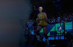 18-05-2019 GER: CEV CL Super Finals Igor Gorgonzola Novara - Imoco Volley Conegliano, Berlin<br /> Igor Gorgonzola Novara take women's title! Novara win 3-1 / Robin de Kruijf #5 of Imoco Volley Conegliano