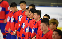 Cape Town 180422 China Taipei players disappointed after losing 12-2 against Georgia  in their game of Ice Hokey world championship held at Grand West Casino.photograph:Phando Jikelo/African News Agency/ANA